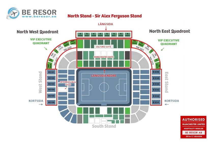Arena Karta Manchester United