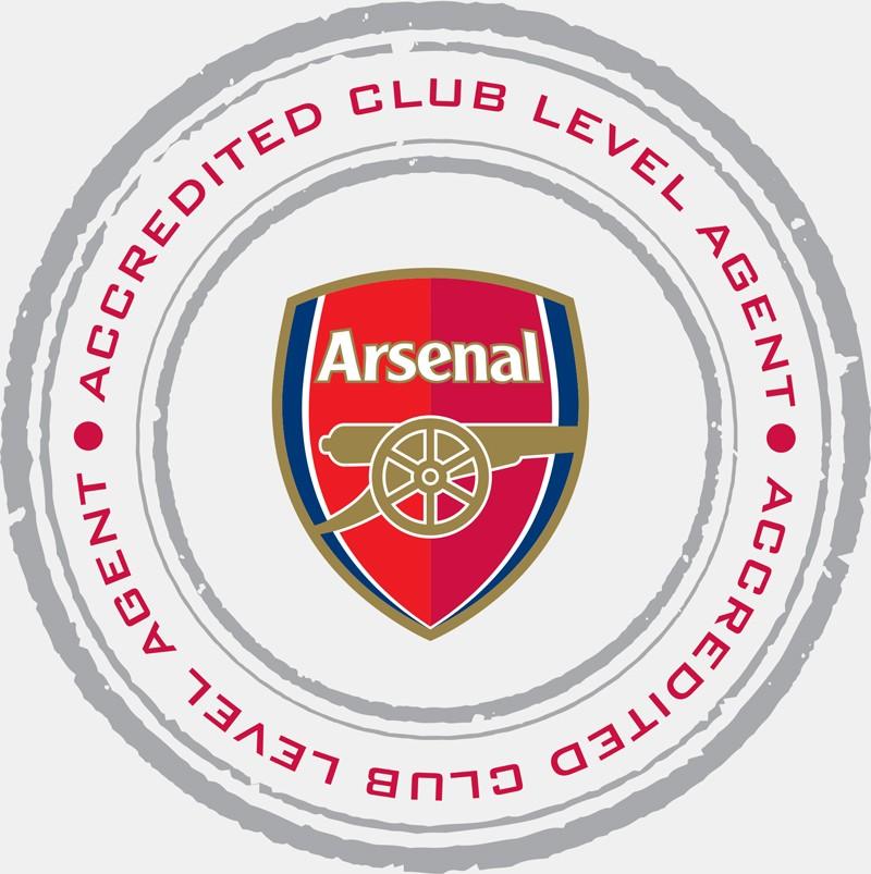 Arsenal agent - grå bakgrund