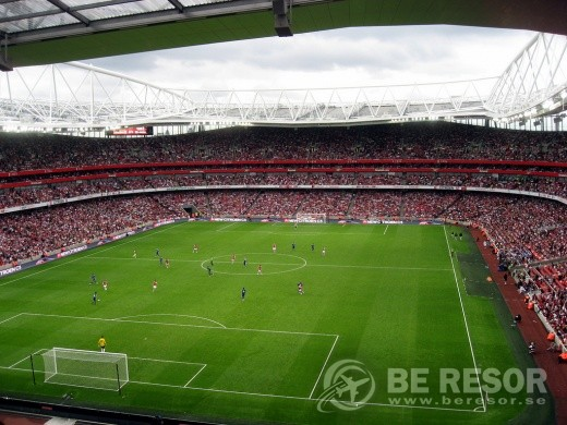 Fotbollsresa till Arsenal