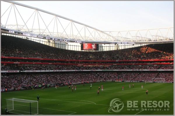 Fotbollsresa till Arsenal - Emirates Stadium