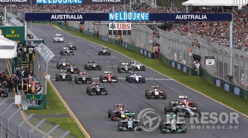 F1 bild Austrialien ny