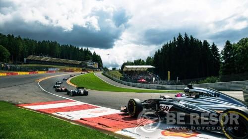 F1 bild Belgien Lyx ny