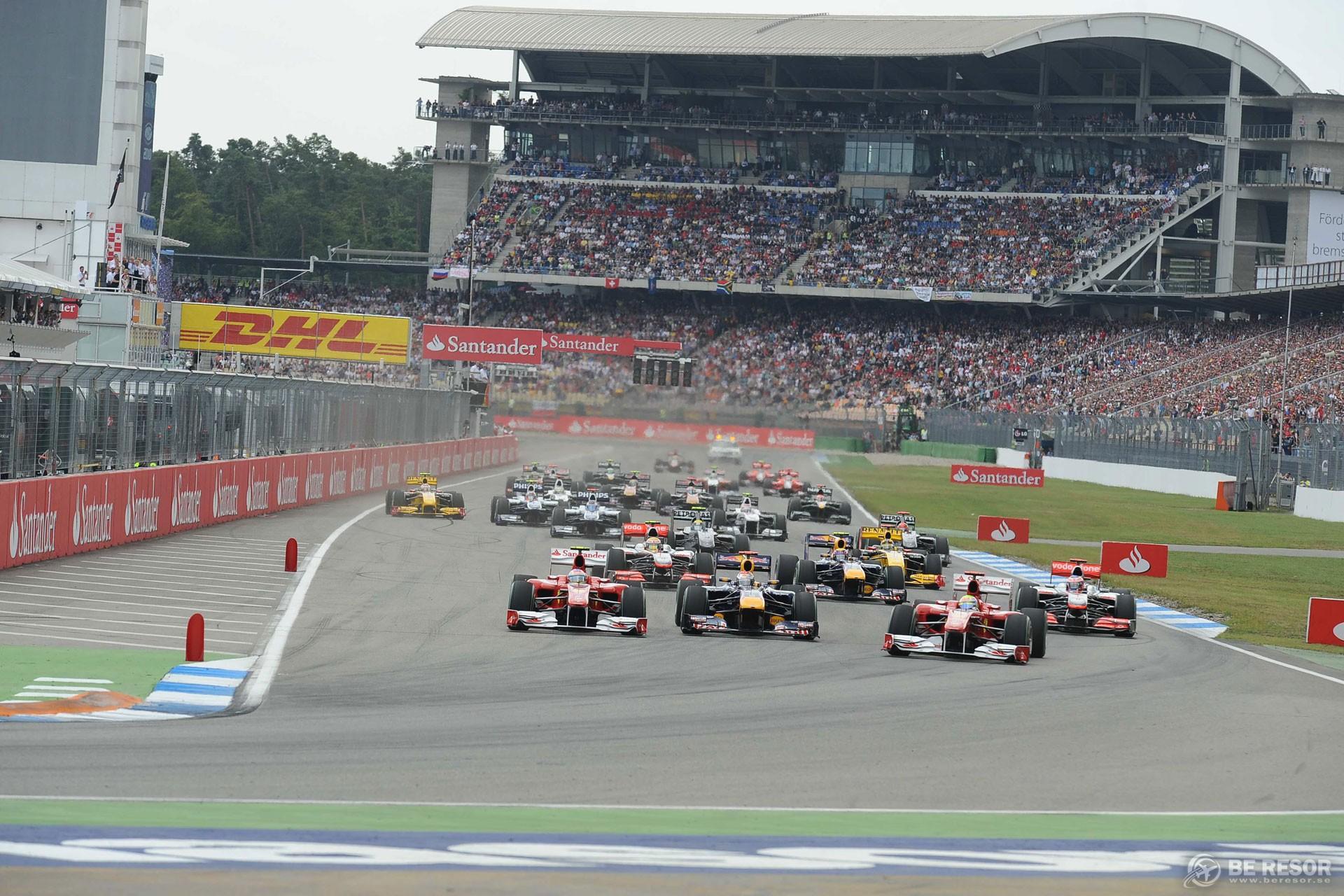 Formel 1 resa till Tyskland - Hockenheim