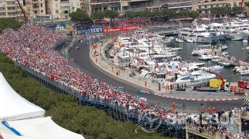 F1 bild Monaco Lyx ny