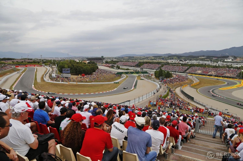 F1 bild Spanien ny