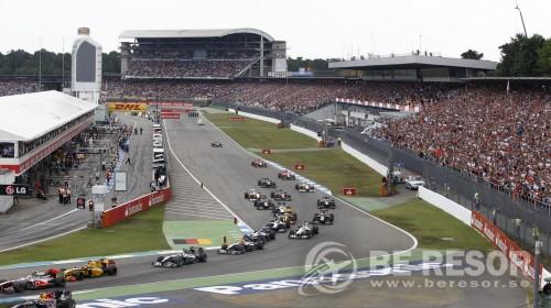 F1 bild Tyskland Lyx ny