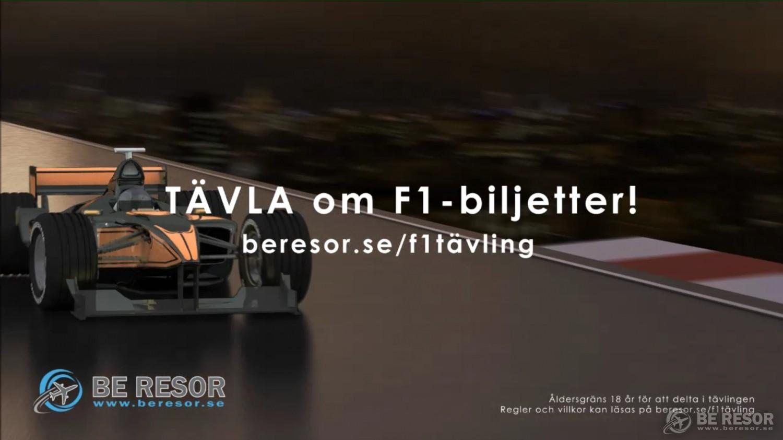 F1 resor & biljetter på BE Resor