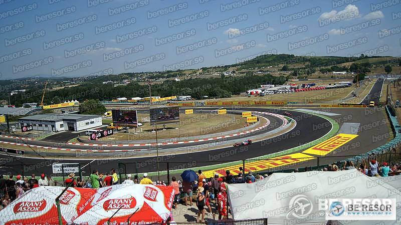 F1 resor till Ungern