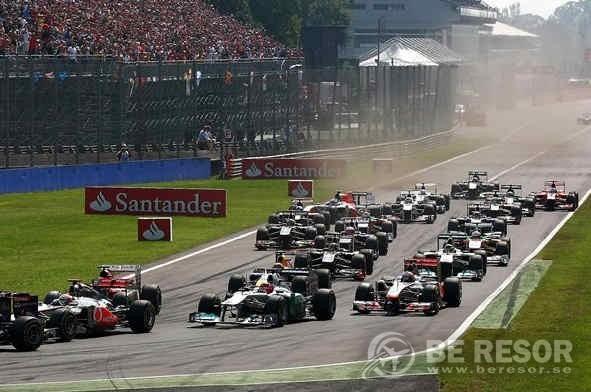 Formel 1 resor till Italien & Monza