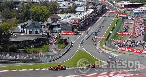 Formel 1 resor till Belgien & Spa
