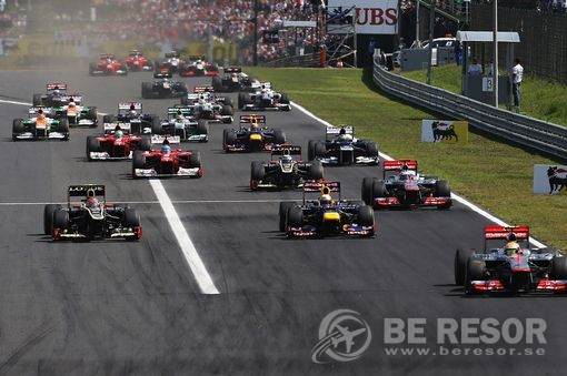 Formel 1 resor till Ungern & Budapest