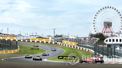 Formel 1 resa Japan