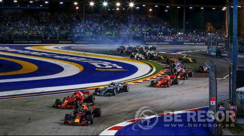 Formel 1 resa Singapore