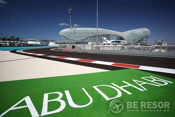 Formel 1 resa till Abu Dhabi