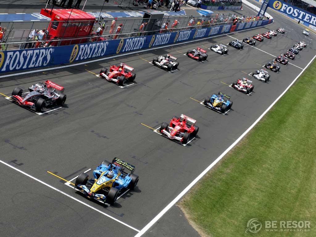Formel 1 resor till England & Silverstone
