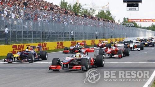Formel 1 resa till Kanada & Montreal