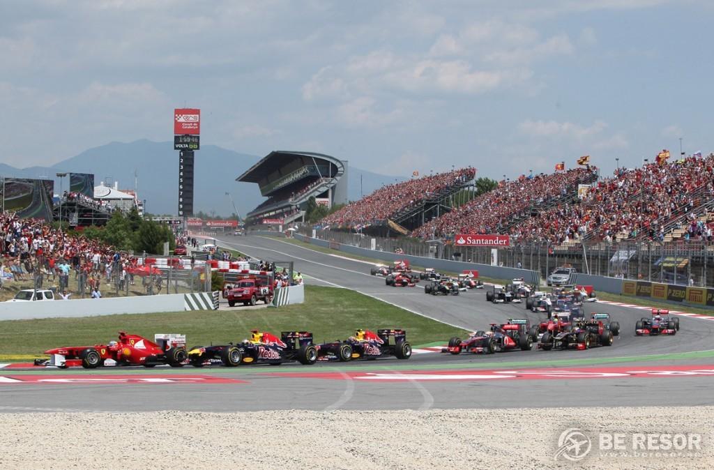 Formel 1 resor till Spaniens GP
