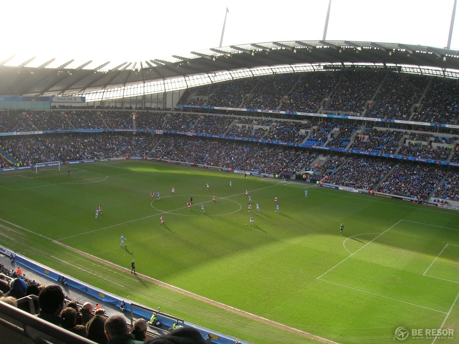 Fotbollsresor till Manchester City