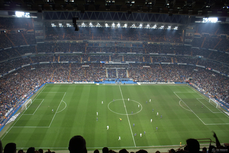 Fotbollsresa till Real Madrid