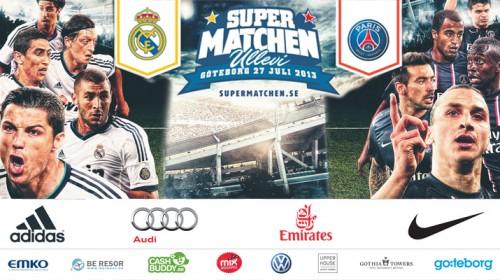 Supermatchen Real Madrid - Paris St Germain