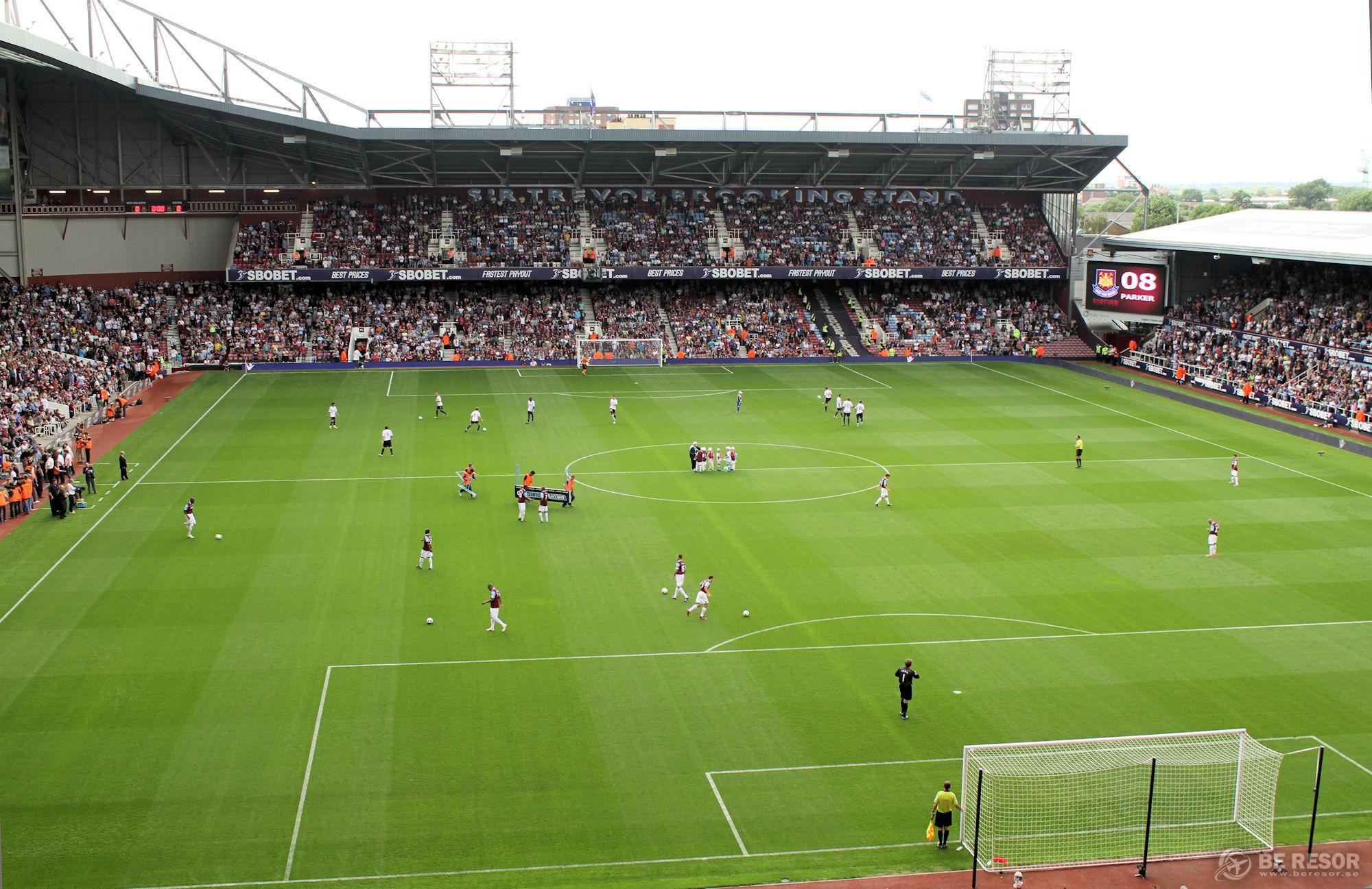 Fotbollsresor till West Ham