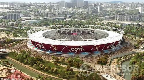 West Ham - Olympiastadion