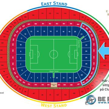 Bild på arenan