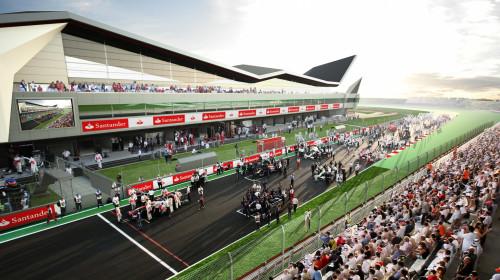 Bild på Englands F1 - Silverstone 2021