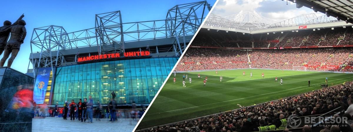 Fotbollsresor Manchester United   biljetter hos BE Resor 50b4f1dae8273