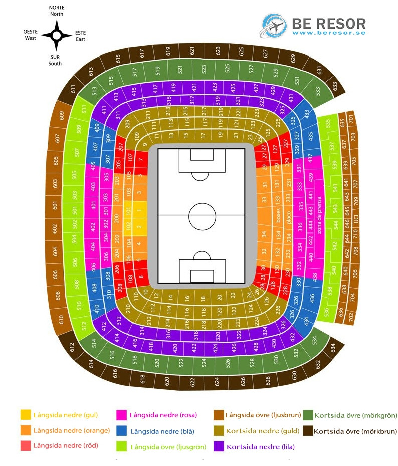 Real Madrid arena