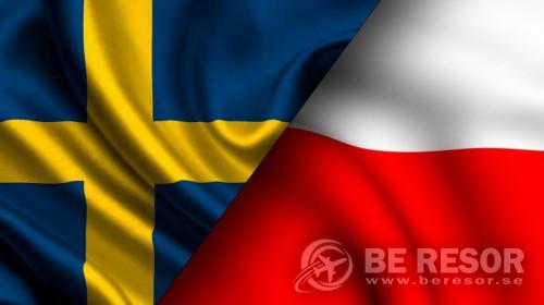 Bild på Sverige - Polen