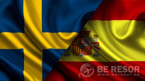Bild på Sverige - Spanien